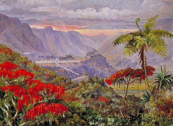 North, Marianne; View of the Jesuit College of Caracas, Minas Geraes, Brazil; Royal Botanic Gardens, Kew; http://www.artuk.org/artworks/view-of-the-jesuit-college-of-caracas-minas-geraes-brazil-88502