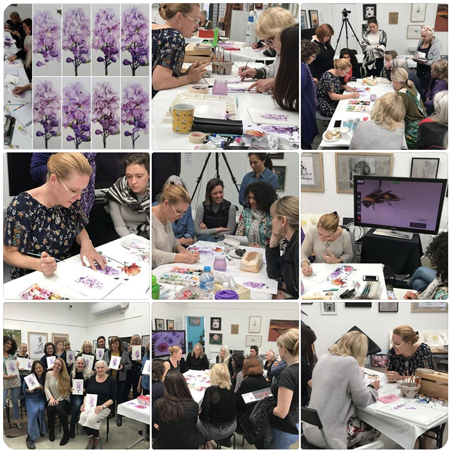 heidi willis_botanical_watercolour_art class_painting_workshop